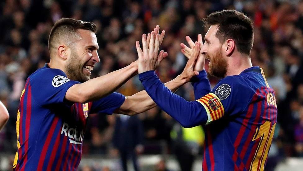 Jordi Alba. Messi ya dijo lo que quería y ahora está comprometido al cien por cien con el Barcelona