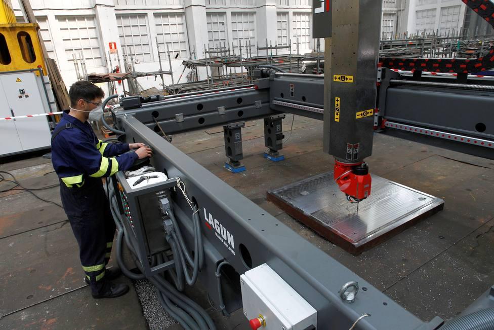 El equipamiento y maquinaria en estas instalaciones es de última generación - FOTO: EFE / Kiko Delgado
