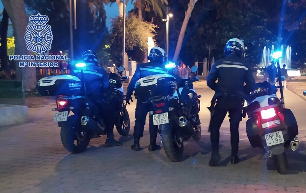 ctv-dgg-policas-de-la-unidad-de-motos-de-cartagena