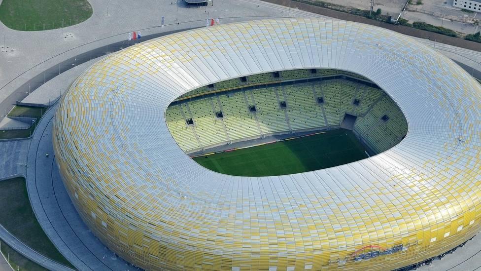 Al Arena Gdanks acoge la final de la Europa League 2021 entre el Villarreal y el Manchester United