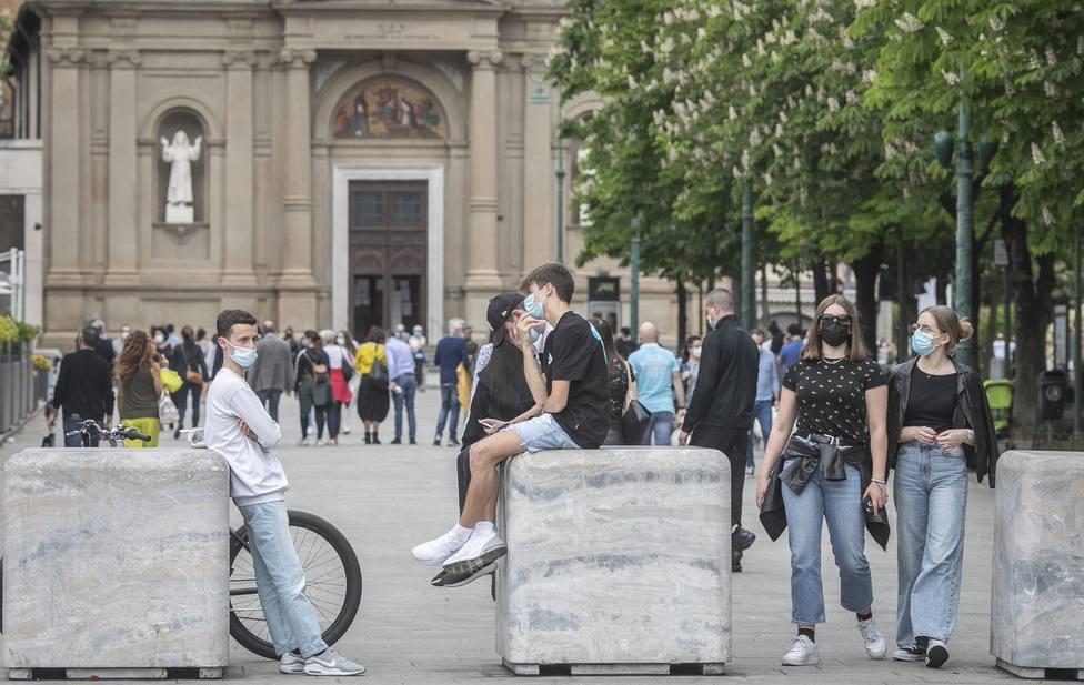 Italia notifica 6.659 nuevos casos en las últimas 24 horas