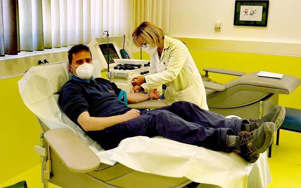 El Centro de Transfusión de Jaén registra 156 donaciones de plasma hiperinmune