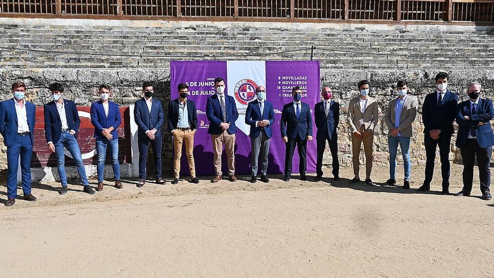 La plaza de Medina de Rioseco ha acogido la presentación del Circuito de Novilladas de Castilla y León