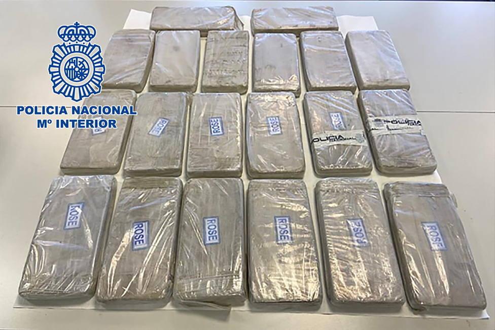 En la operación la Policía se ha incautado de 26,3 kilogramos de heroína