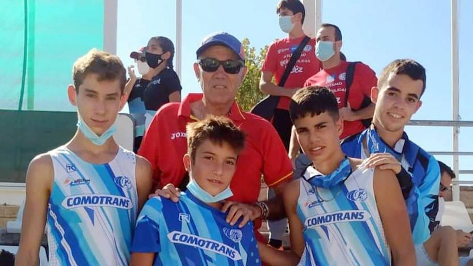 El atleta motrileño Luis Rodríguez, se proclama campeón de Andalucía sub 16