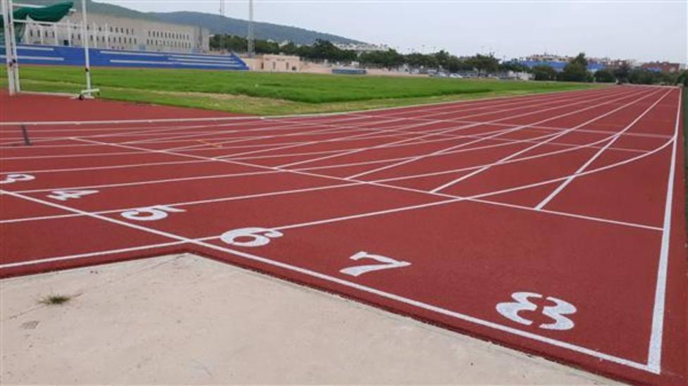Hallan medio kilo de hachís en las pistas de atletismo de Ibiza