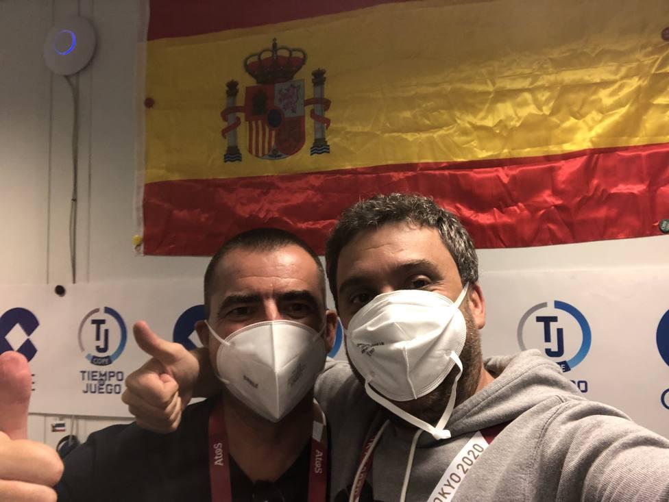 Germán Dobarro y Carlos Sáez