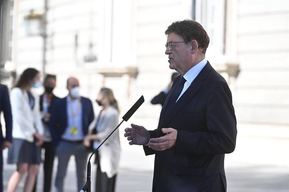 Puig advierte que los últimos fallecidos por covid en la Comunitat Valenciana habían decidido no vacunarse