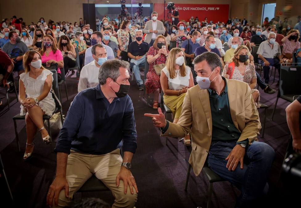 Pedro Sánchez participa en acto PSOE en Sevilla