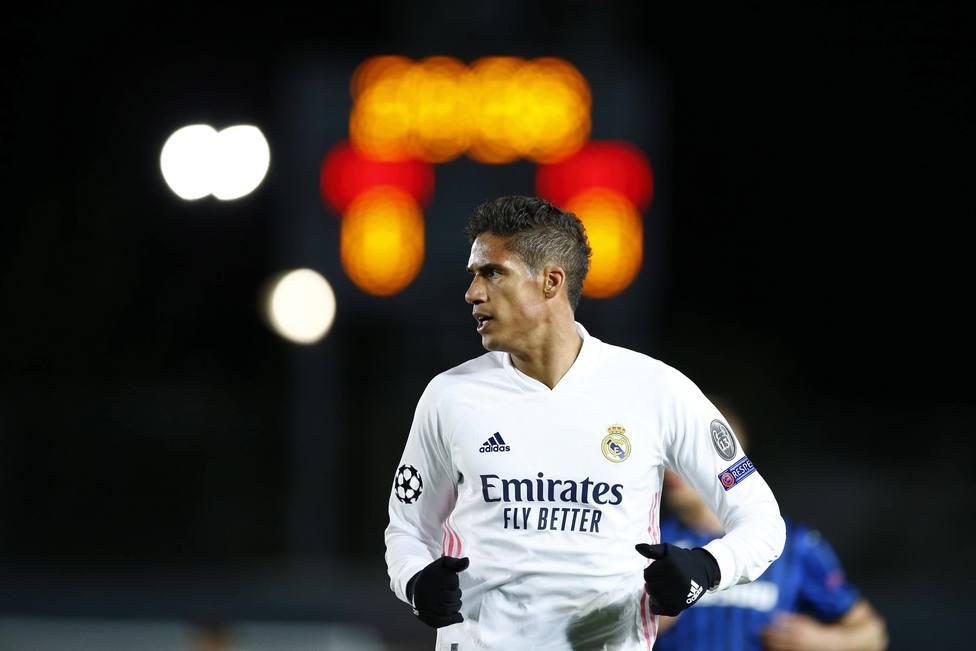 Rafael Varane con la camiseta del Real Madrid.