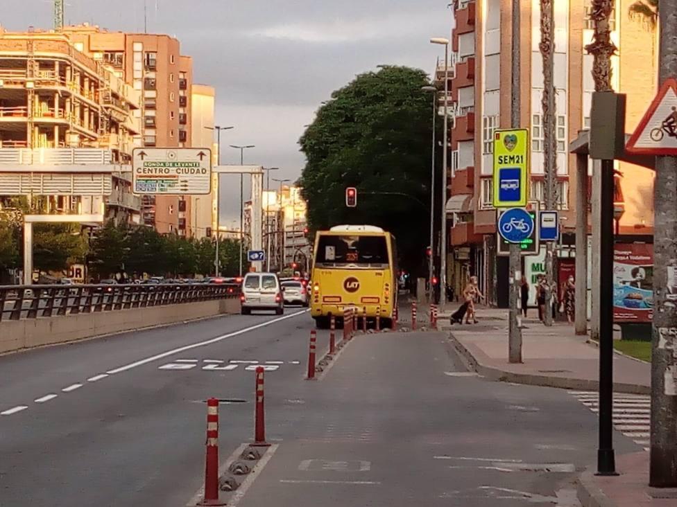 Murcia registra el mayor ascenso en el número viajeros de autobús urbano en agosto