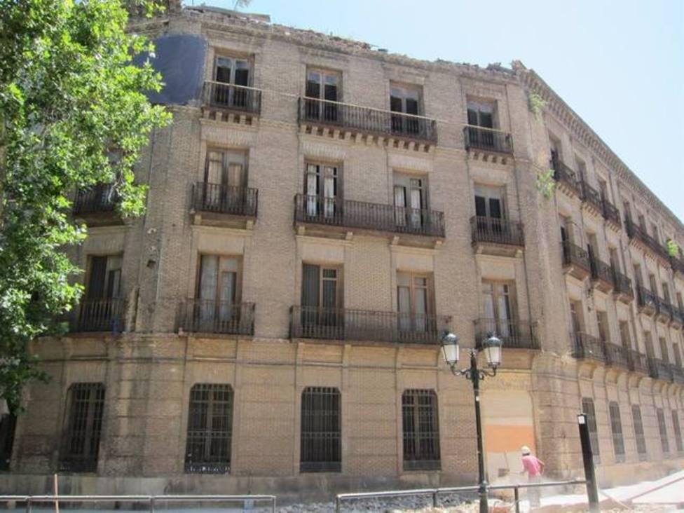 Cuartel de Pontoneros.