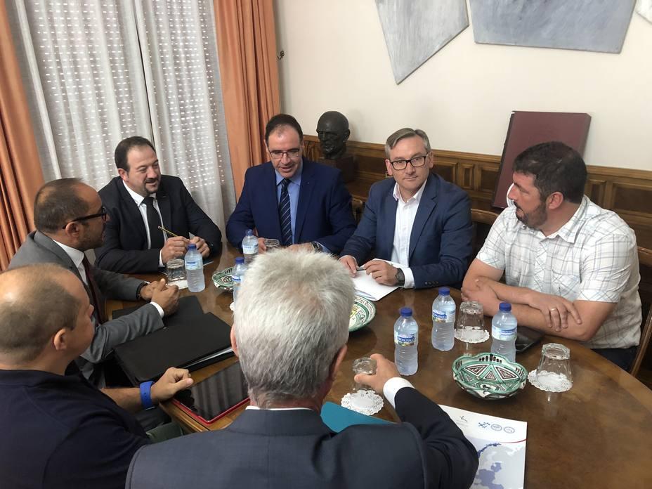Reunión de los presidentes de las Diputaciones