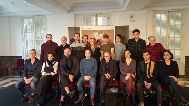 Pasqual dirige el final de Comedia sin título de Lorca escrito por Conejero: Para hacer Lorca necesitas personalidad