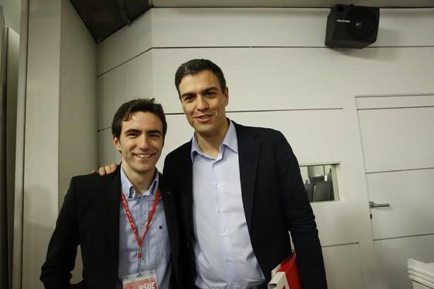 Pedro Sánchez presenta hoy a Casares como candidato a la Alcaldía de Santander