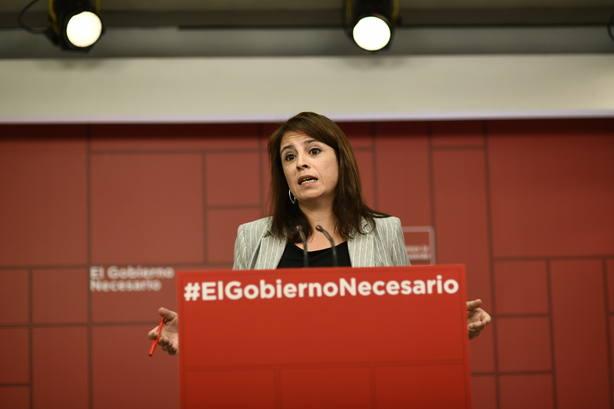 PSOE acusa a PP y Ciudadanos de querer vivir del conflicto con el independentismo para arañar votos en resto de España