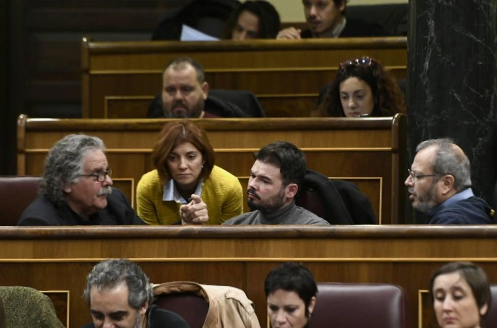 Diputados de ERC utilizaron hace un año la misma fórmula de acatamiento de la Constitución sin protestas de los grupos