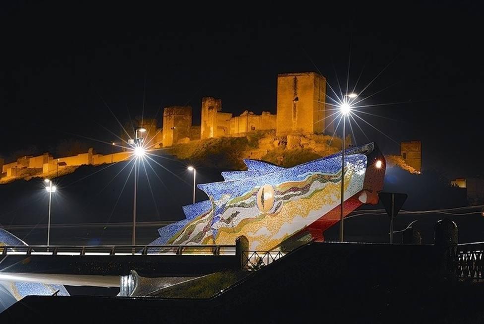 Alcalá del Río y su famoso dragón en plena provincia de Sevilla