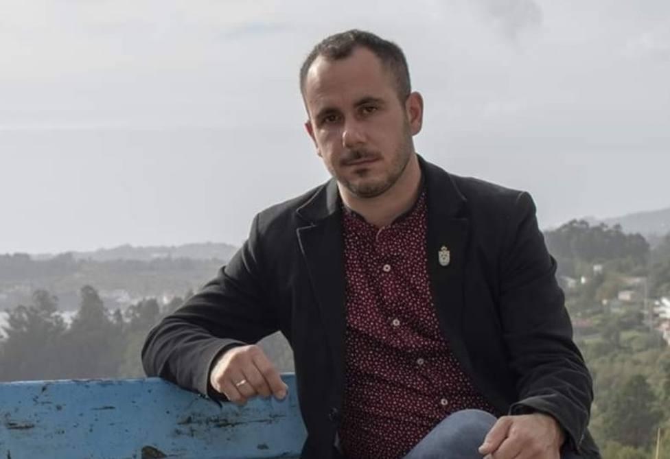 Carlos Ladra, alcalde de Cabanas