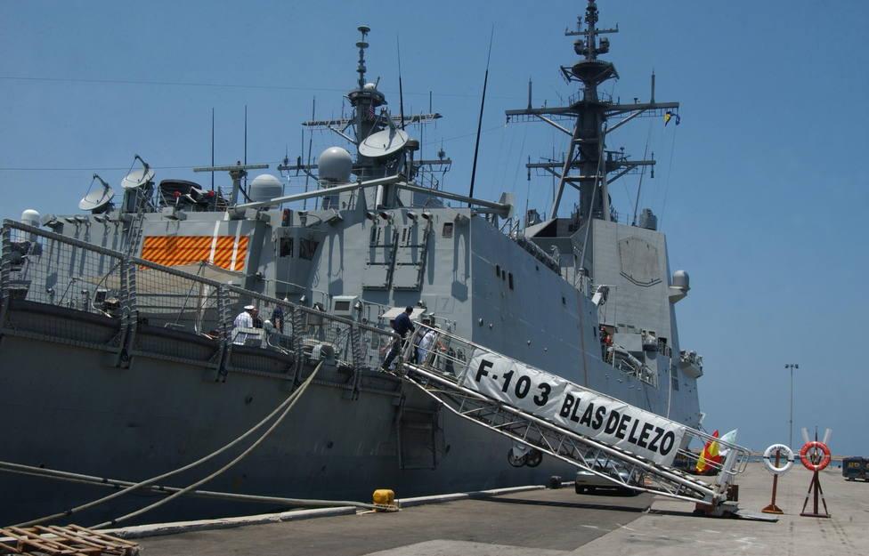 """La fragata """"Blas de Lezo"""" zarpa el próximo martes de Ferrol para integrarse en una agrupación de la OTAN"""