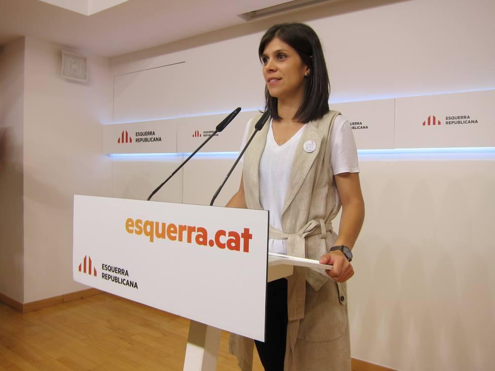 Vilalta (ERC) llama a participar en la Diada para canalizar el sentimiento de desilusión