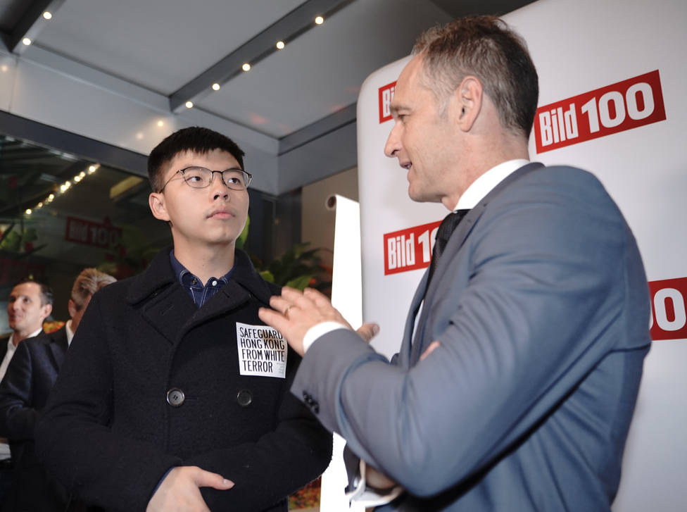 Pekín critica al Gobierno alemán por el trato dado a un activista hongkonés