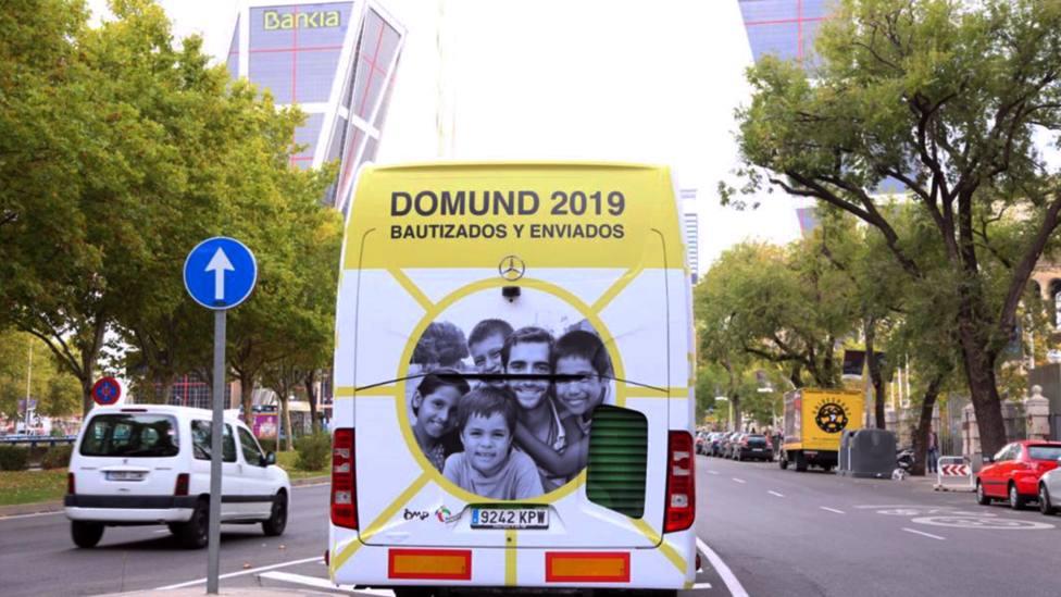Así es el autobús misionero de Obras Misionales Pontificias