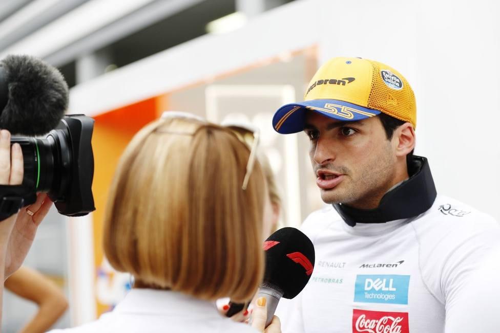 Sainz: Defenderé mi sexta posición con todo lo que tenemos
