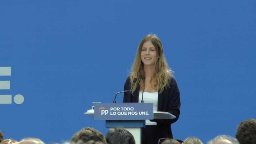 Fanjul, nueva diputada del PP: Vamos a estar frente al nacionalismo