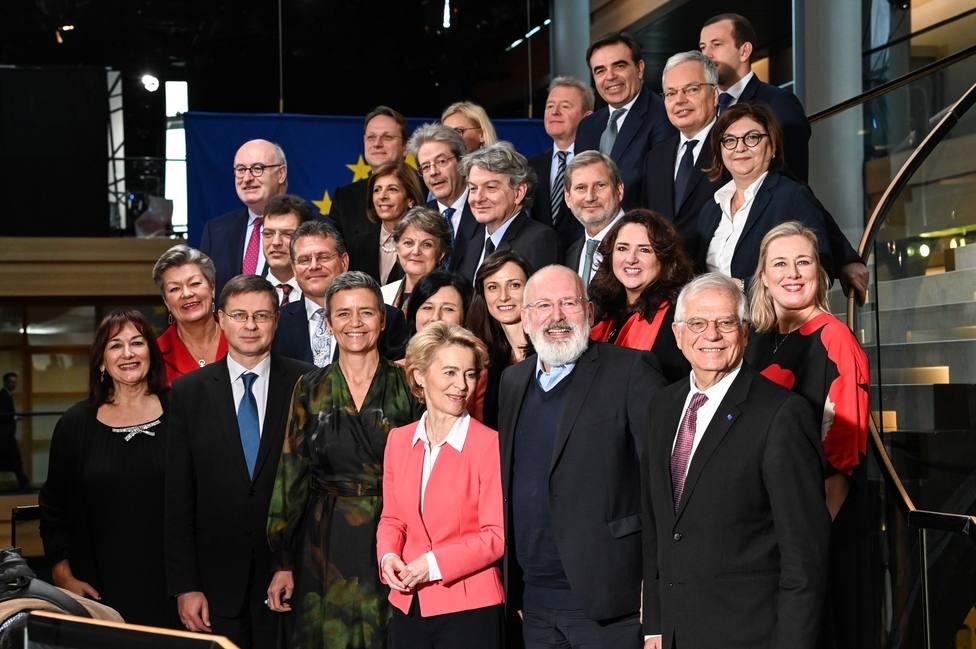El Parlamento Europeo da luz verde a la Comisión Europea de Von der Leyen