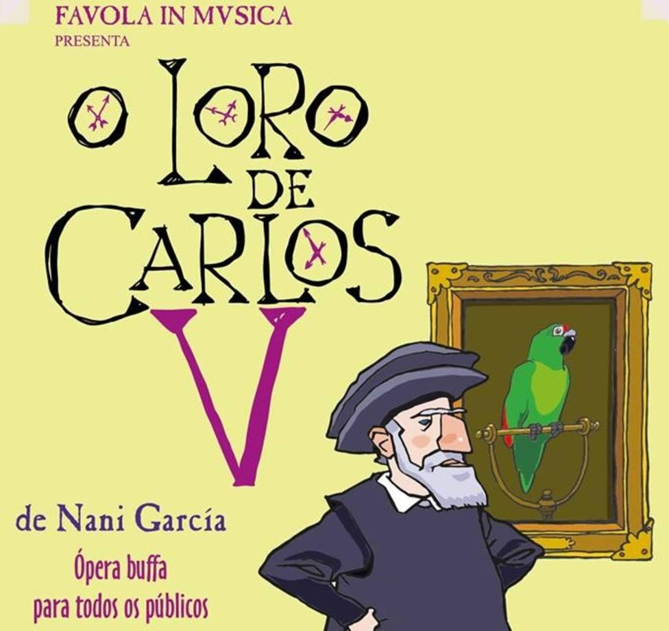 O Loro de Carlos V es una ópera bufa que interpretará la Orquesta Sinfónica de Galicia