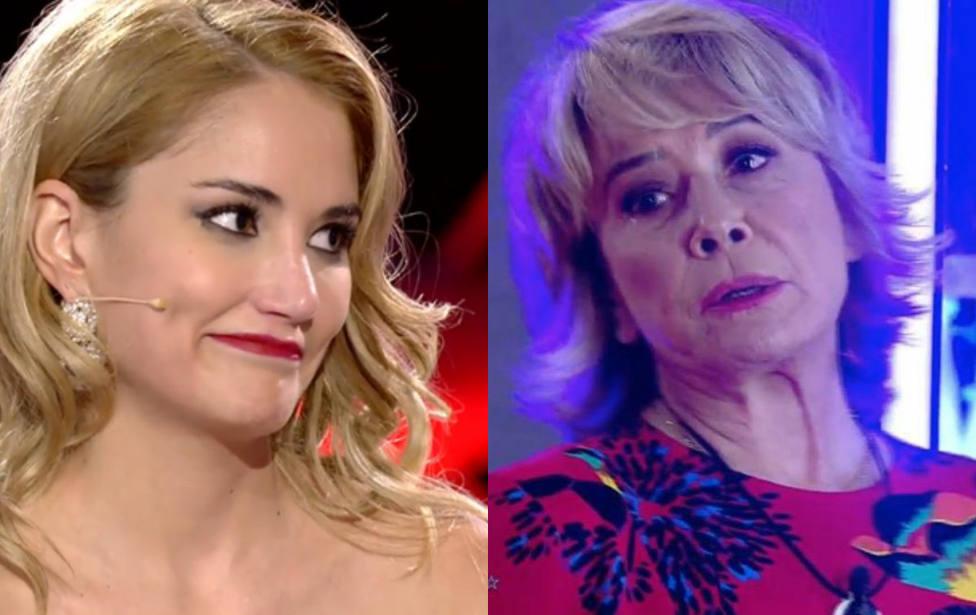 El tenso momento entre Mila Ximénez y Alba Carrillo en la final de GH VIP que ha terminado en amenaza