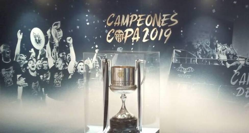 El Valencia CF defenderá el título de campeón de Copa