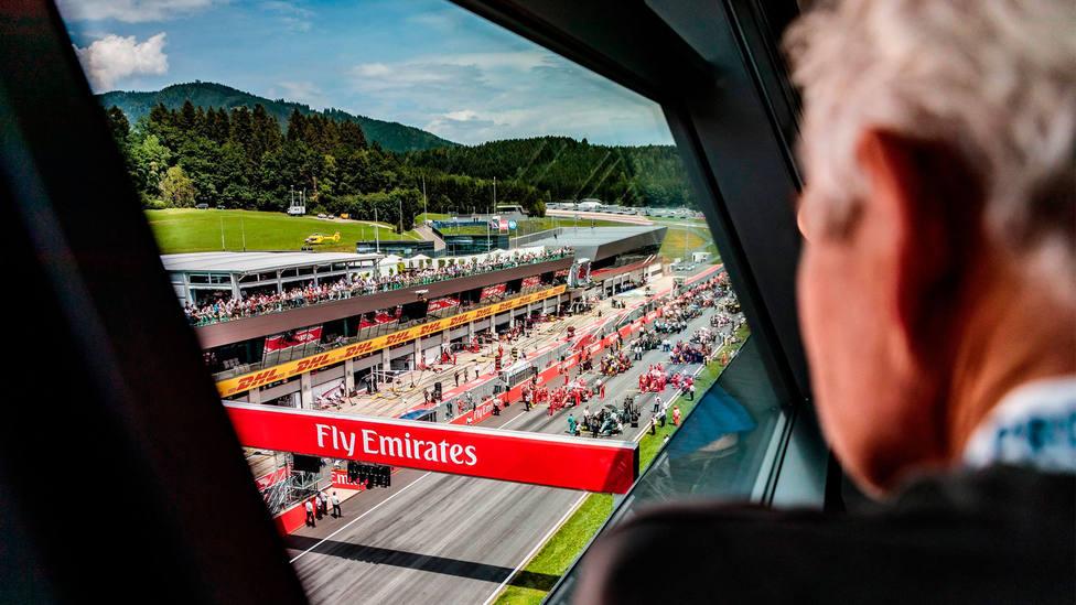 Imagen del Red Bull Ring, escenario del Gran Premio de Austria de Fórmula Uno. CORDONPRESS
