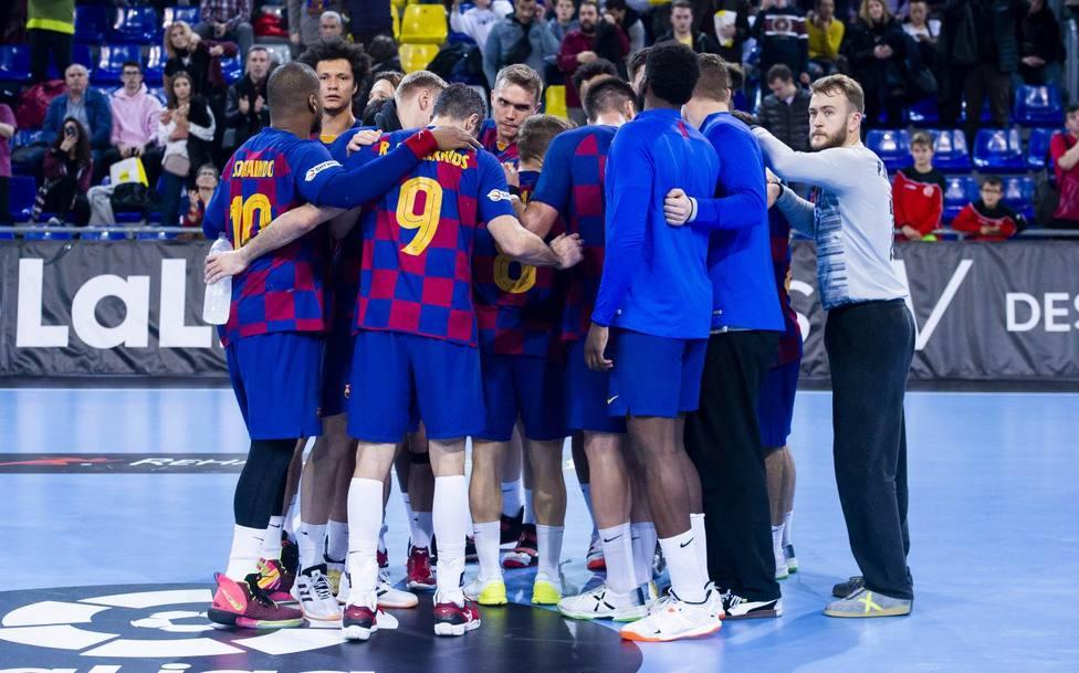 El Barcelona, campeón de la Liga Asobal de balonmano (@FCBHandball)