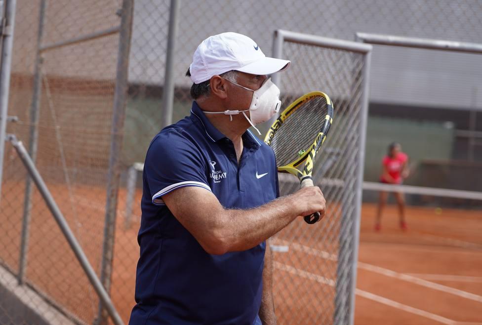 Tenis.- Toni Nadal: Lo principal en la vida es prepararse bien y esta es una oportunidad