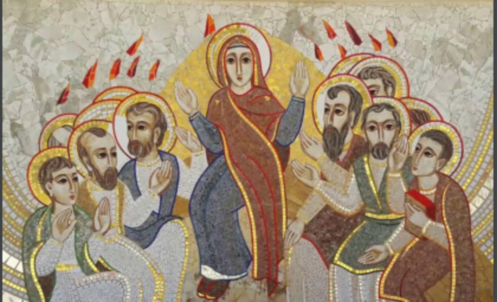 Ya puedes descargarte la Oración en Familia de la Iglesia para celebrar el Domingo de Pentecostés en el hogar