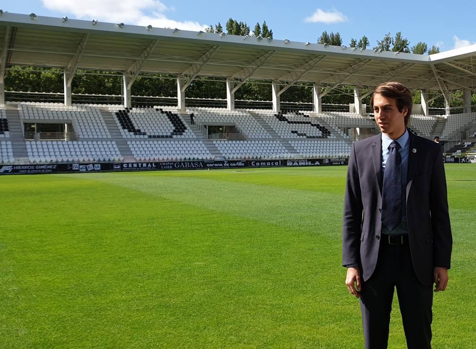 El presidente del Burgos CF, Franco Caselli