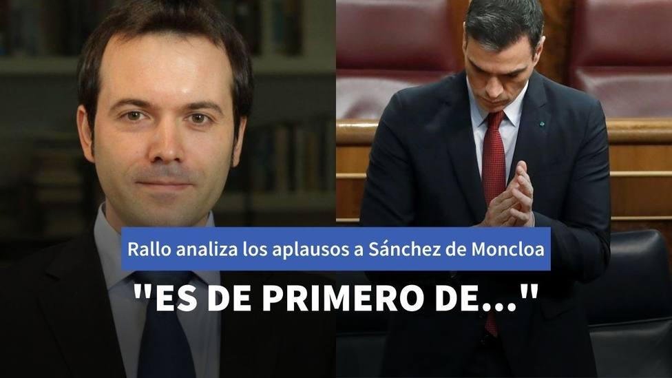 Juan Ramón Rallo y Pedro Sánchez