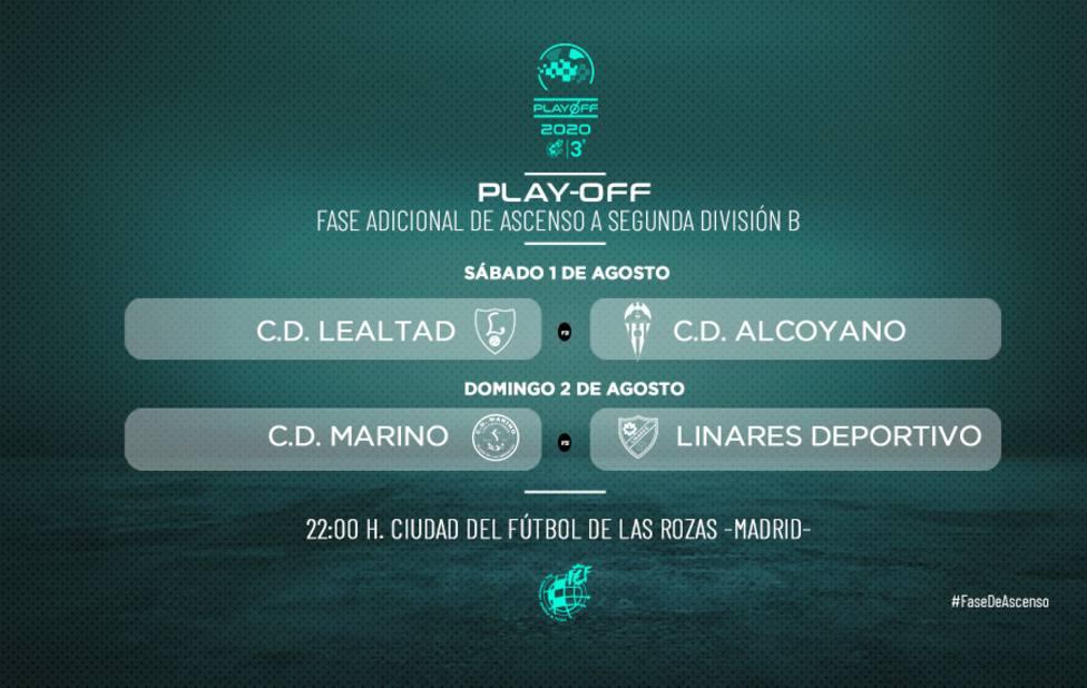 Lealtad-Alcoyano y Marino-Linares, últimos duelos de ascenso a Segunda B