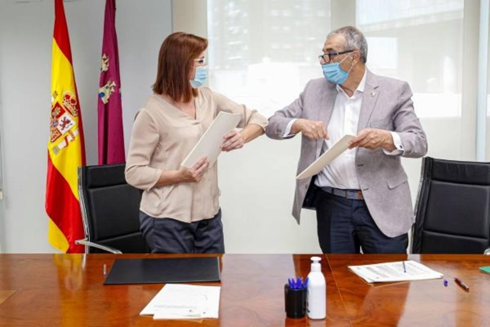 Política Social firma dos convenios con la Federación Plena Inclusión Región de Murcia