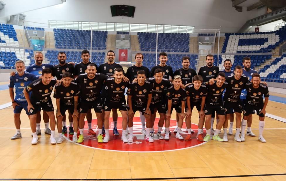 Imagen de la plantilla del Palma Futsal
