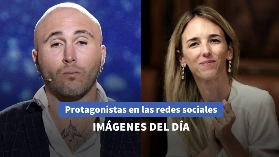 Imágenes del día: la reflexión de Cayetana con Herrera y el mensaje de Kiko Rivera tras la salida de Messi