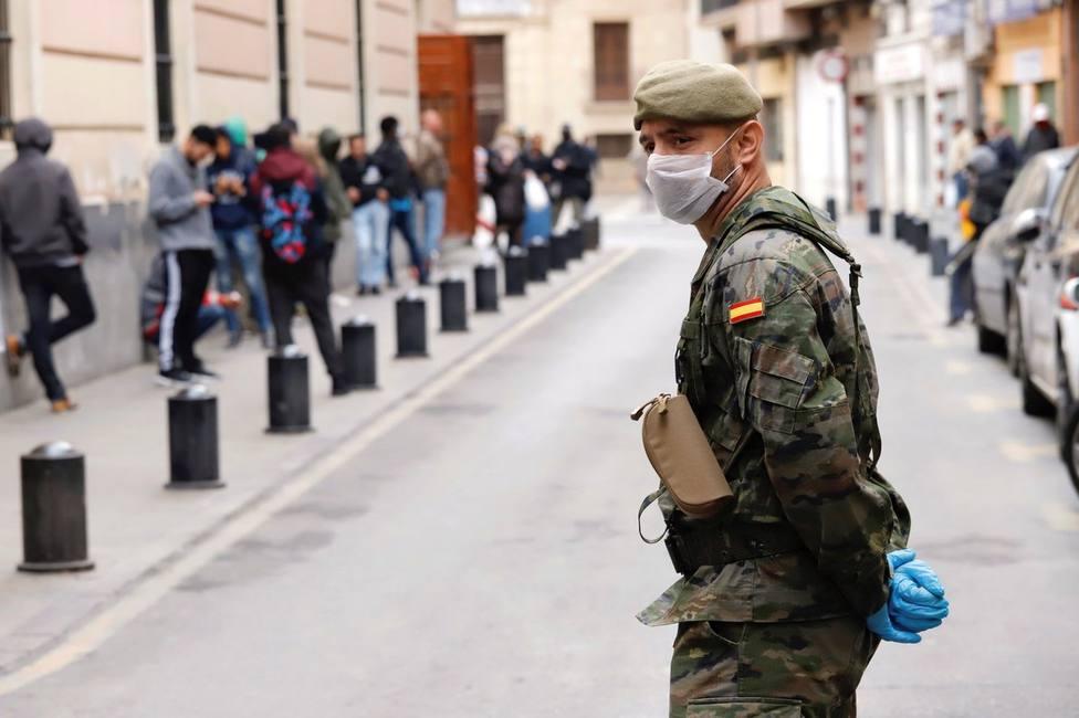 El Gobierno murciano solicita 60 rastreadores militares al Gobierno central