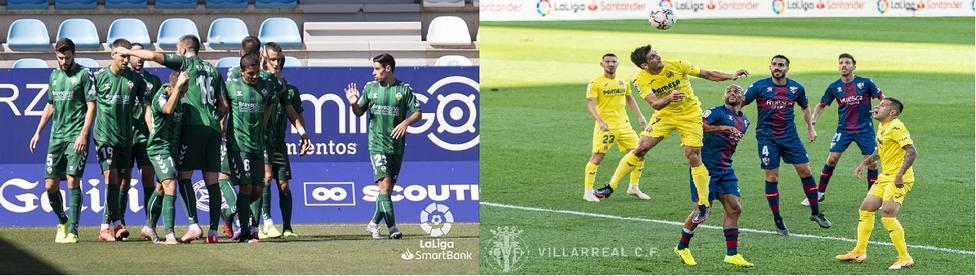 Primera jornada de la temporada 2020/2021 del C.D. Castellón y Villarreal C.F