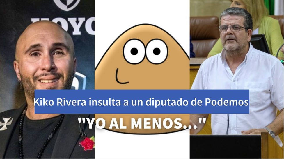 La respuesta de un diputado de Podemos a Kiko Rivera tras decirle que tiene la cara de un Pou