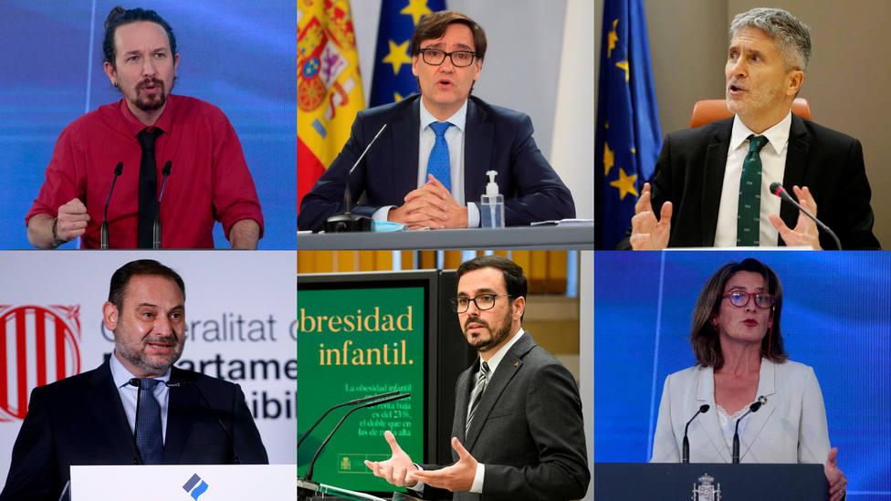 Los dimitibles de Sánchez: estos son los ministros más señalados de su segundo Gobierno