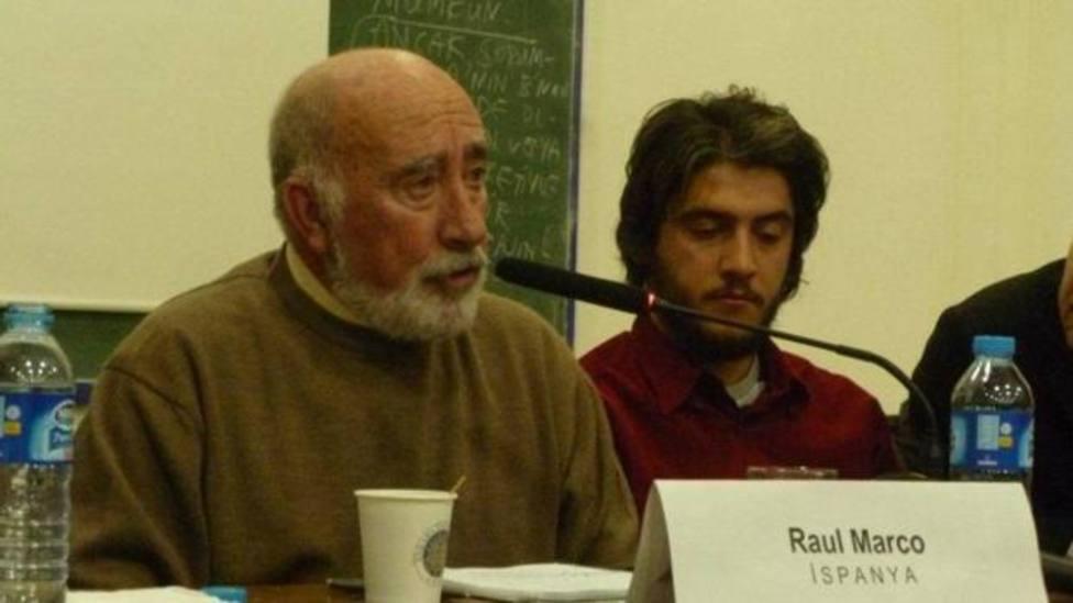 Muere Raúl Marco, fundador del PCE (ml) y del FRAP