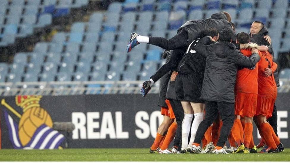 La Real Sociedad, rival del Córdoba en dieciseisavos de Copa