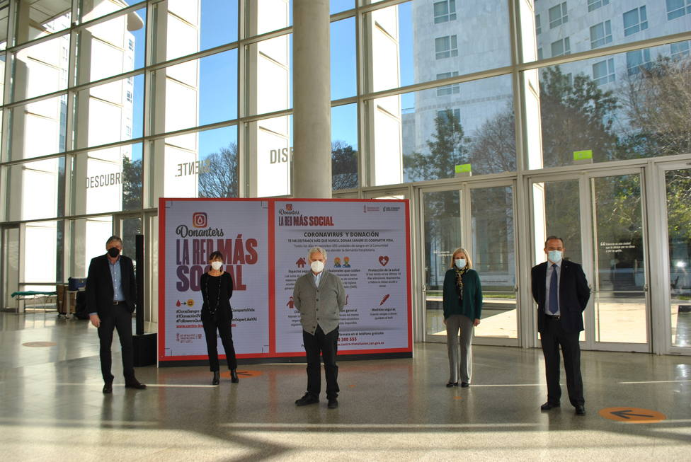 Donación de sangre en el Palacio de Congresos